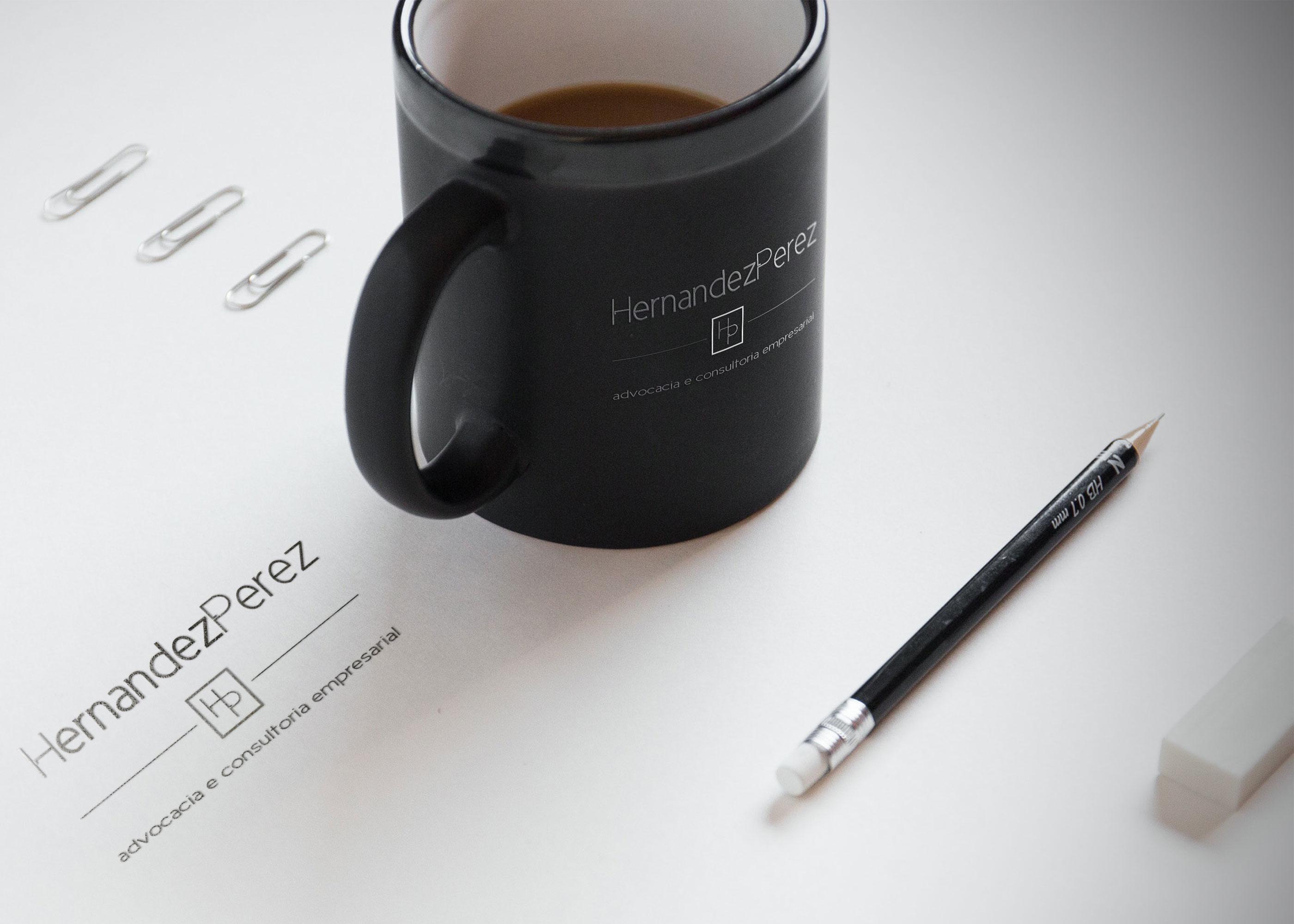 Branding da marca Hernandez Perez Consultoria empresarial