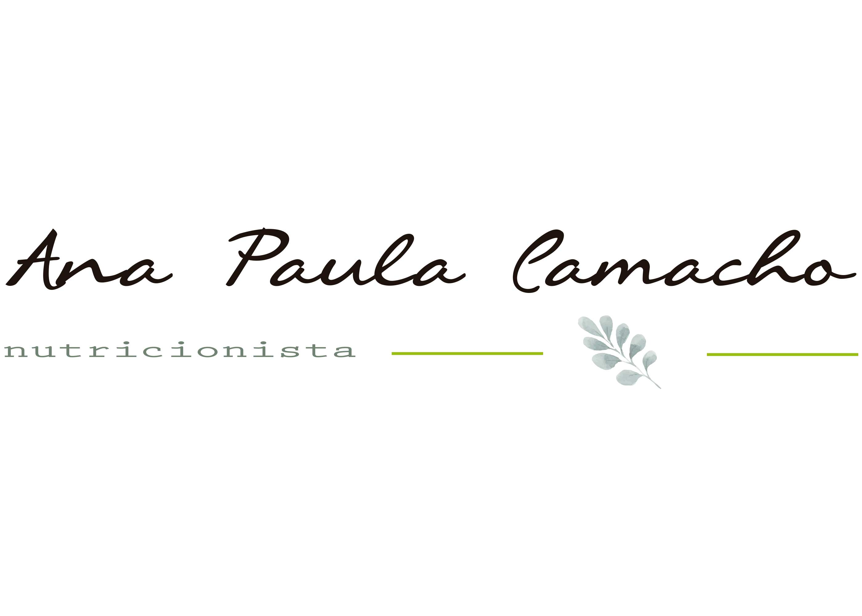logo Ana Paula Camacho nutri